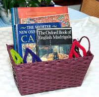 Book Gift Basket with $15 Gift Card to Gently Used Books