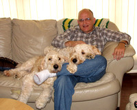 Bill With Peanut and Bailey